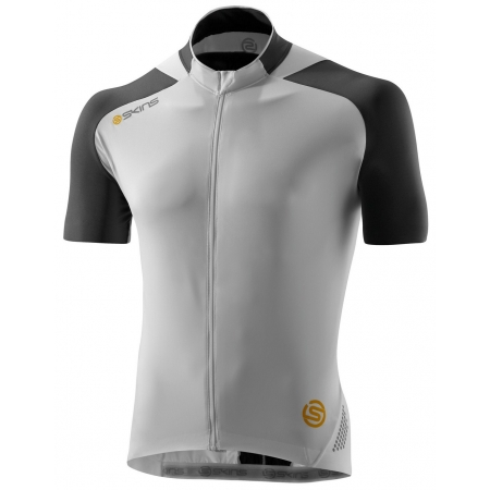 Cycle C400 Mens White Grey S S Jersey M