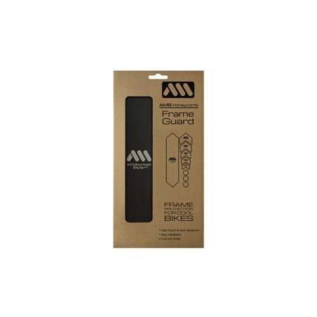AMS Honeycomb Frame Guard BLACK
